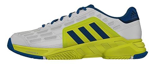 official photos cf856 ed94f adidas Uomo Barricade Court 2 Scarpe da Ginnastica Bianco Size 48  Amazon.it Scarpe e borse