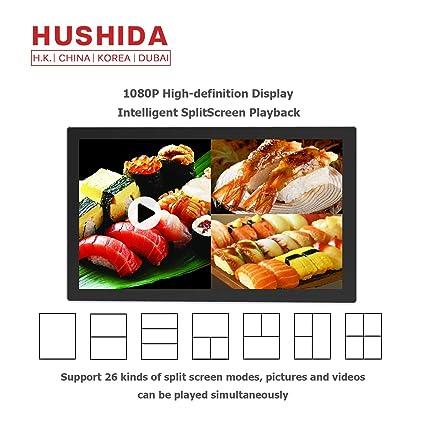 Amazon.com: HUSHIDA 22inchCommercial Digital Signage 1080p ...