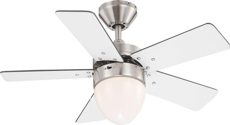 Globo Deckenventilator Ventilator mit Zugschalter und Beleuchtung Marva 0332