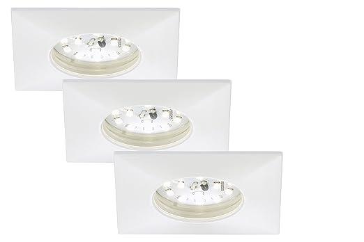 Briloner Leuchten 7205-036 LED Einbauleuchte, Einbaustrahler, LED ...