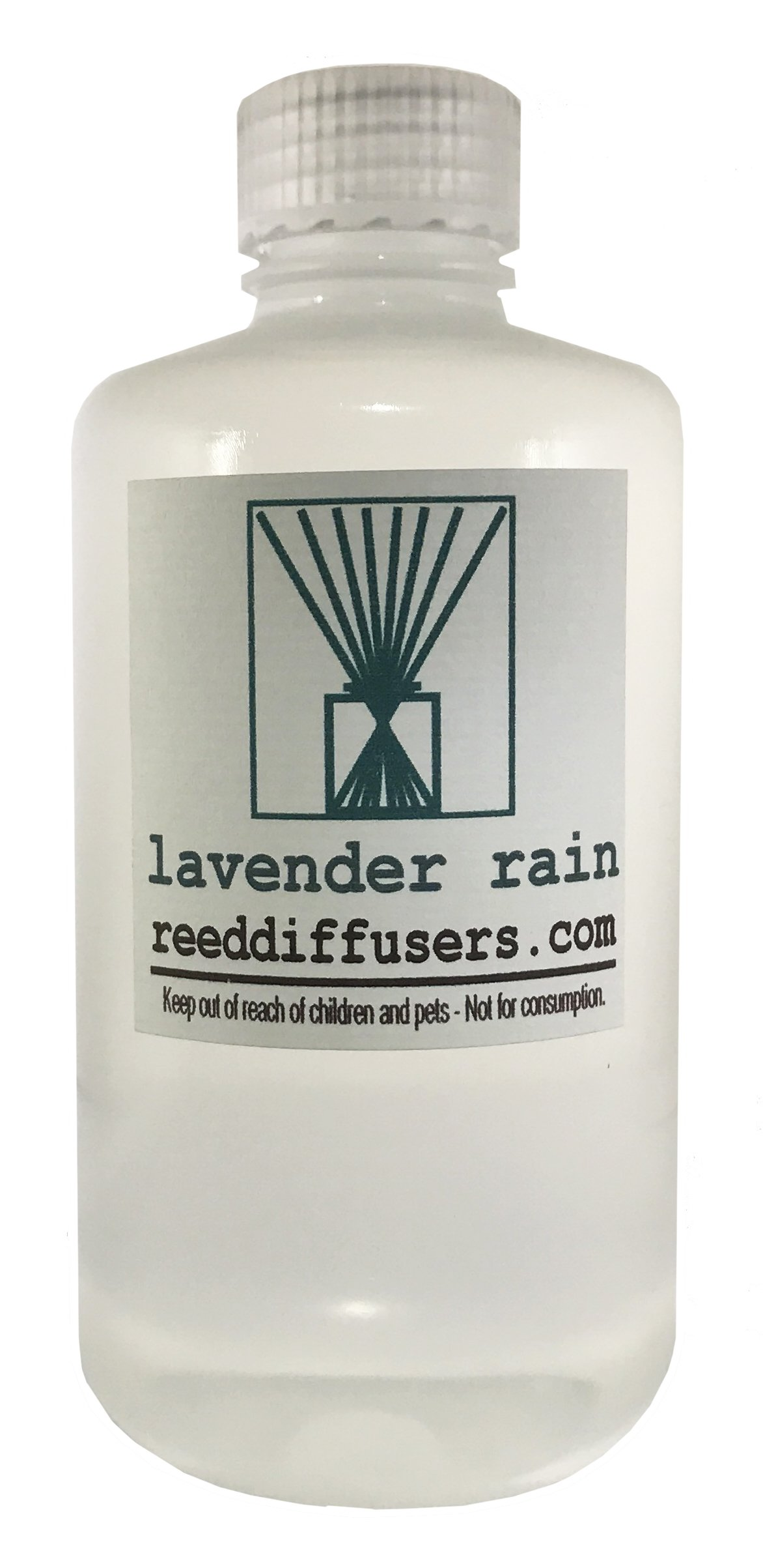 Lavender Rain Fragrance Reed Diffuser Oil Refill - 8oz - Made in The USA