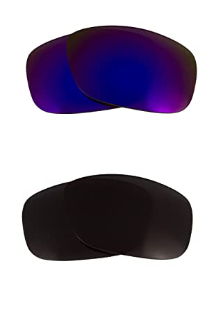 95f2875fda7 Image Unavailable. Image not available for. Color  Oil Drum Replacement  Lenses Polarized Black   Purple by SEEK fits OAKLEY