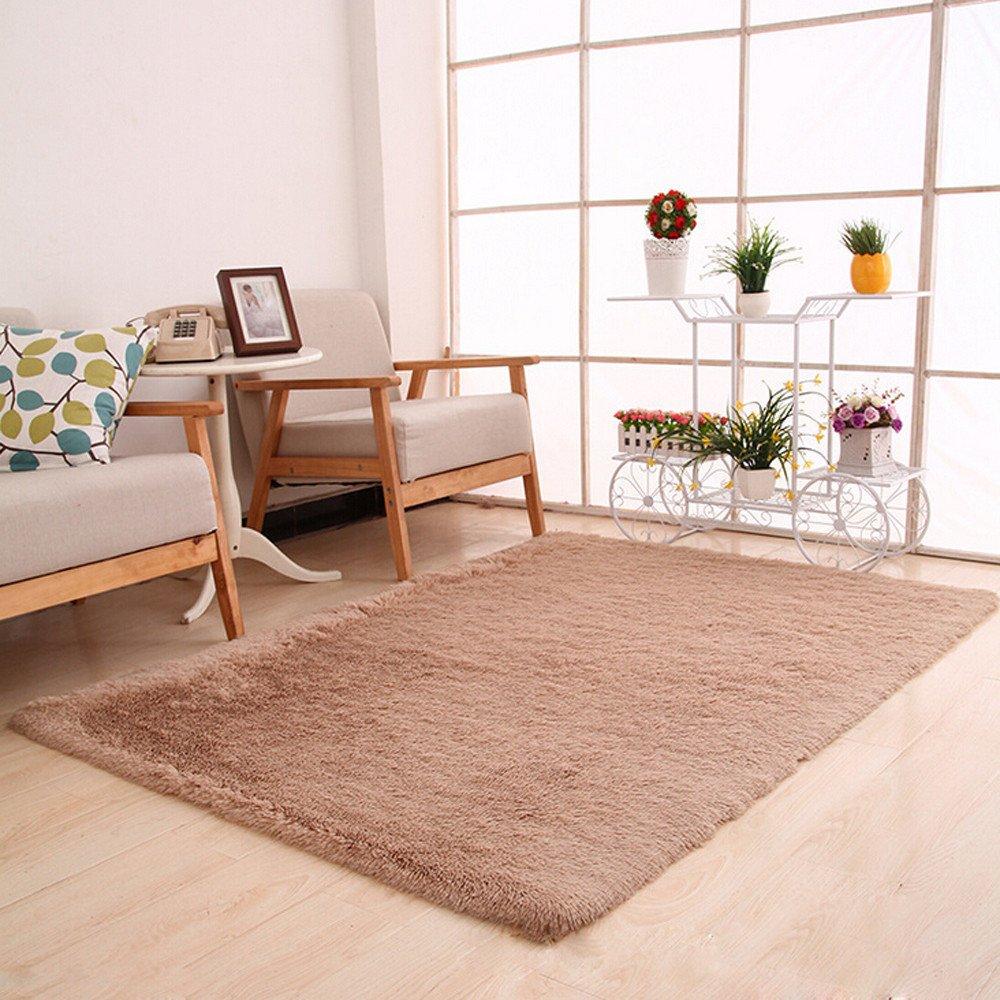 Weiliru Ultra Soft Indoor Modern Area Rugs Fluffy Living Room Carpets Suitable for Children Bedroom Home Decor Nursery Rugs Decorative Floor Rugs