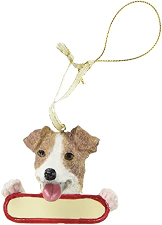 Image Unavailable. Image not available for. Color: Jack Russell Terrier Dog  Santa's Pal Christmas Ornament - Amazon.com: Jack Russell Terrier Dog Santa's Pal Christmas Ornament