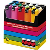 Posca bold type 15colors (Japan Import)