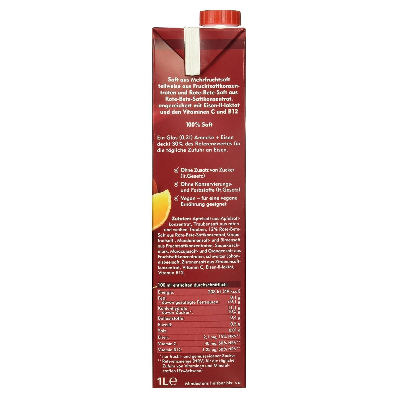 Amecke + Eisen - 100% Saft, 1 l Packung: Amazon.de: Amazon Pantry