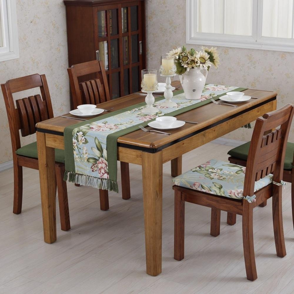 kaige table runners American Country Table Flag Coffee table TV cabinet Cloth Cotton Hemp Gabe 38180cm
