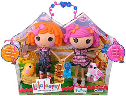 Lalaloopsy Doll Figure Twins 2Pack Sunny Side Up Berry Jars n Jam by MGA Entertainment: Amazon.es: Juguetes y juegos