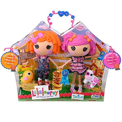 Amazoncom Lalaloopsy Doll Figure Twins 2 Pack Sunny Side Up And