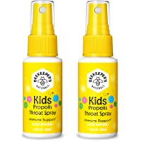 BEEKEEPER'S NATURALS Propolis Throat Spray for Kids - 95% Bee Propolis Extract - Natural Immune Support & Sore Throat…