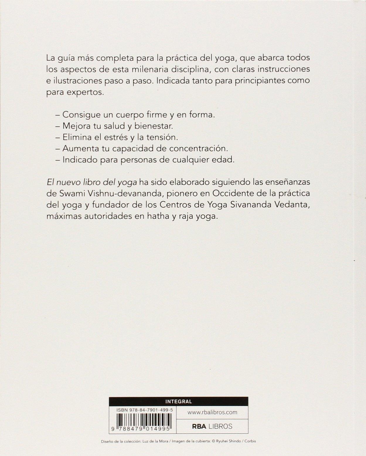 El nuevo libro del yoga: 031 (EJERCICIO CUERPO-MEN): Amazon ...