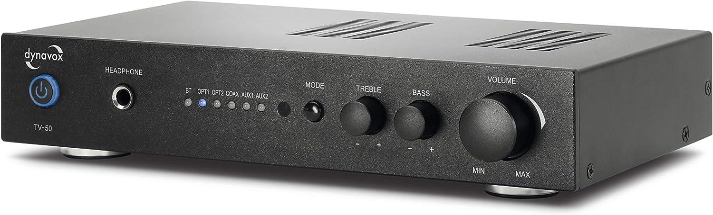 Dynavox Digital Verstärker Tv 50 Kompaktes Design Elektronik