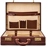 Maxwell Scott» Luxury Lawyers Attache Case (The Strada) - One Size