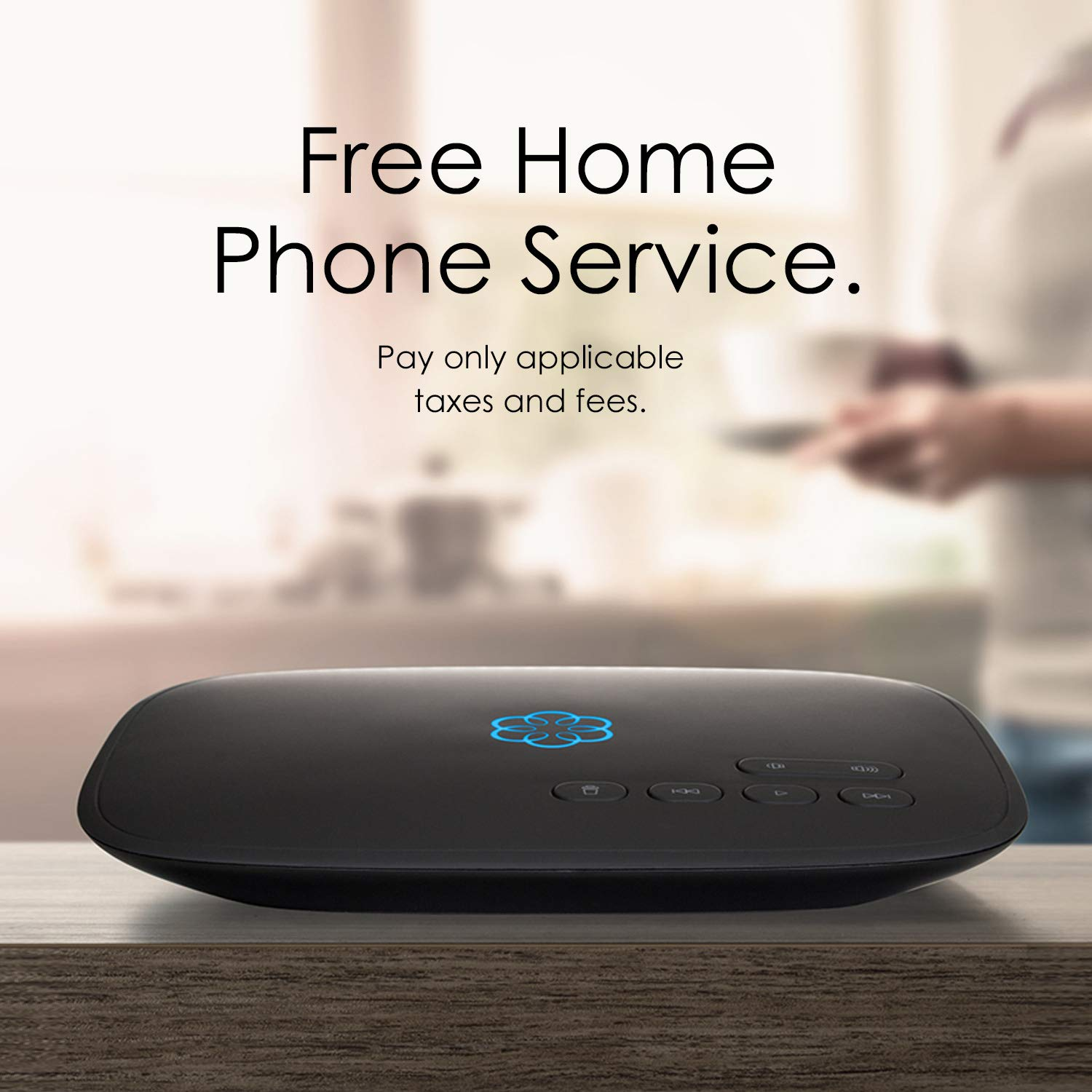 Ooma Telo Free Home Phone Service Works With Amazon Telephone Wiring Diagram As Well Jack Echo And Smart Devices Electronics