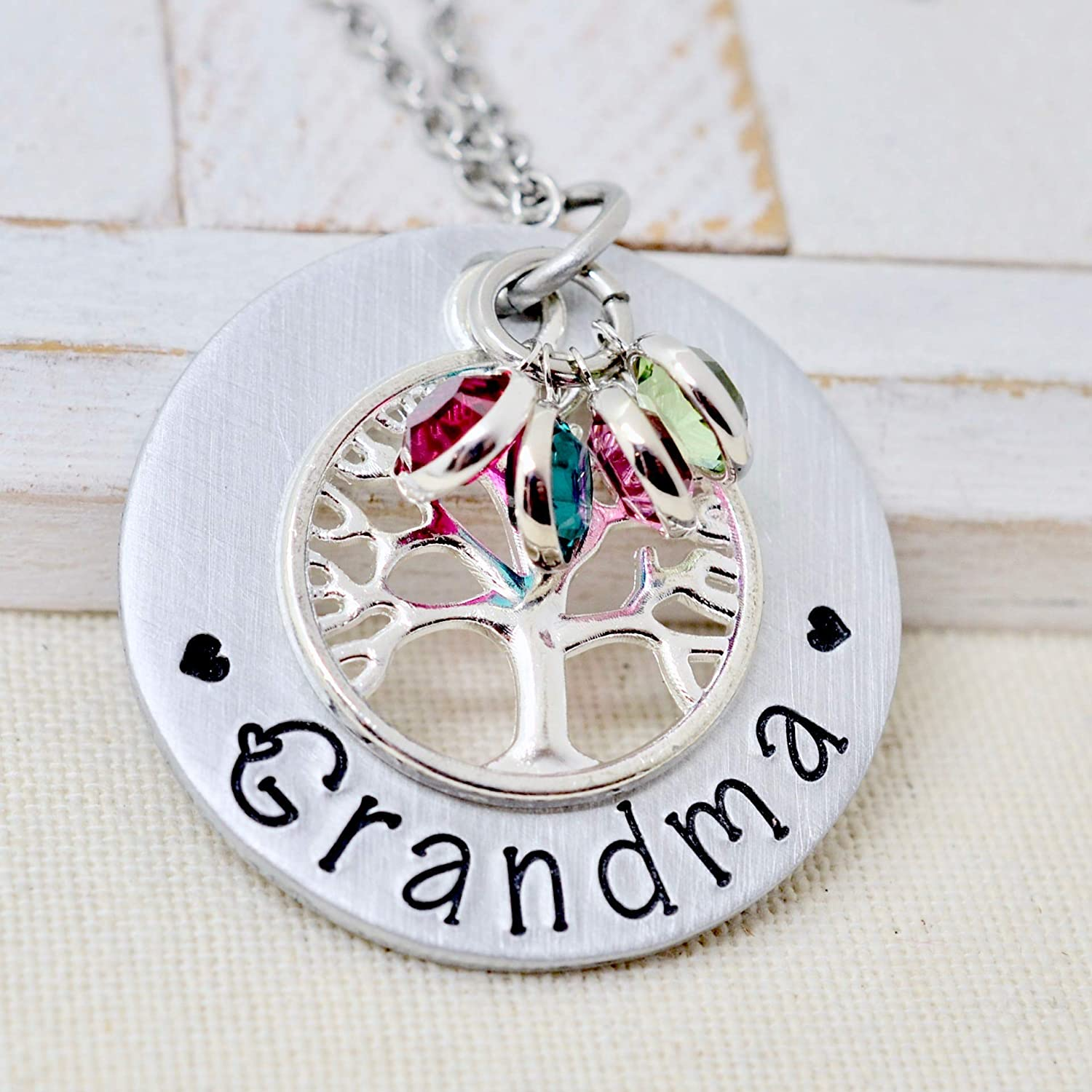 Family birthstone necklace Mother necklace Grandma necklace Personalized birthstone necklace Mommy necklace Gift for her Custom jewelry