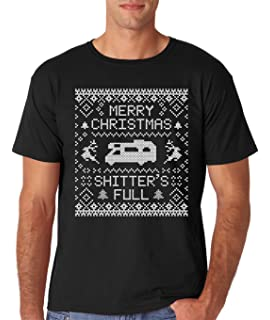 Amazoncom Ym Wear Mens Merry Christmas Shitters Full Ugly