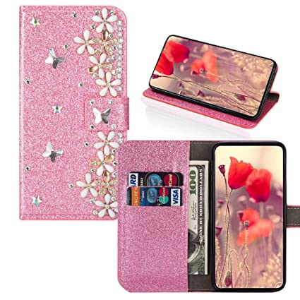 Amazon com: IVY P8 Lite Flash Powder Wallet Cases [Lucky