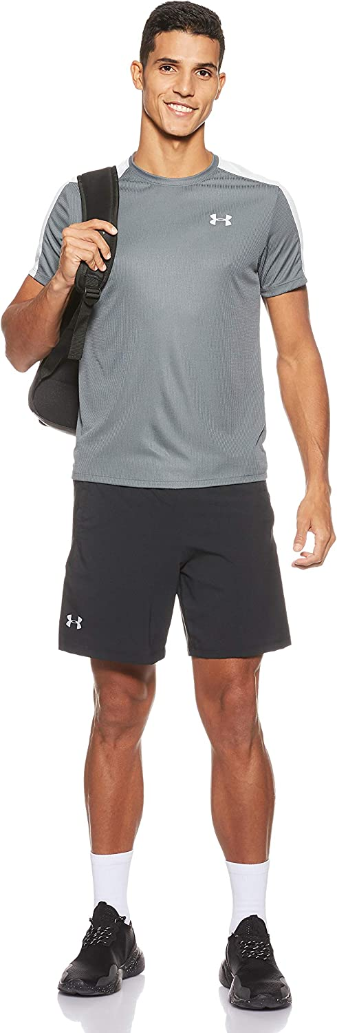Under Armour Mens Ua Speed Stride Long Sleeves Light and Breathable Gym and Running T Shirt with Tight Fit