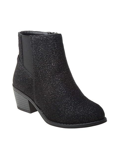 Girls Kids Cuty Flat Heel Boots 11-4