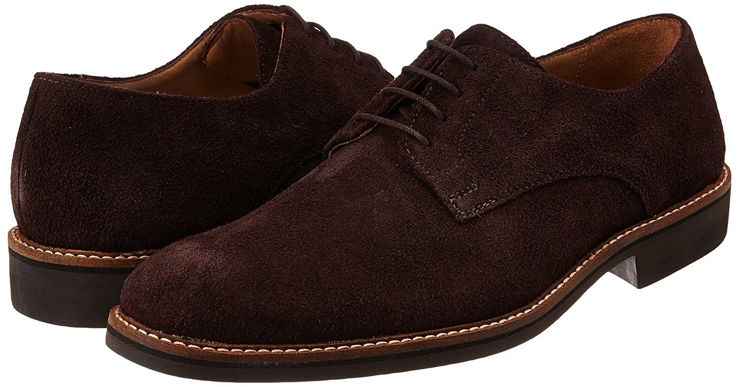 Aubergine Suede Leather Formal Shoes