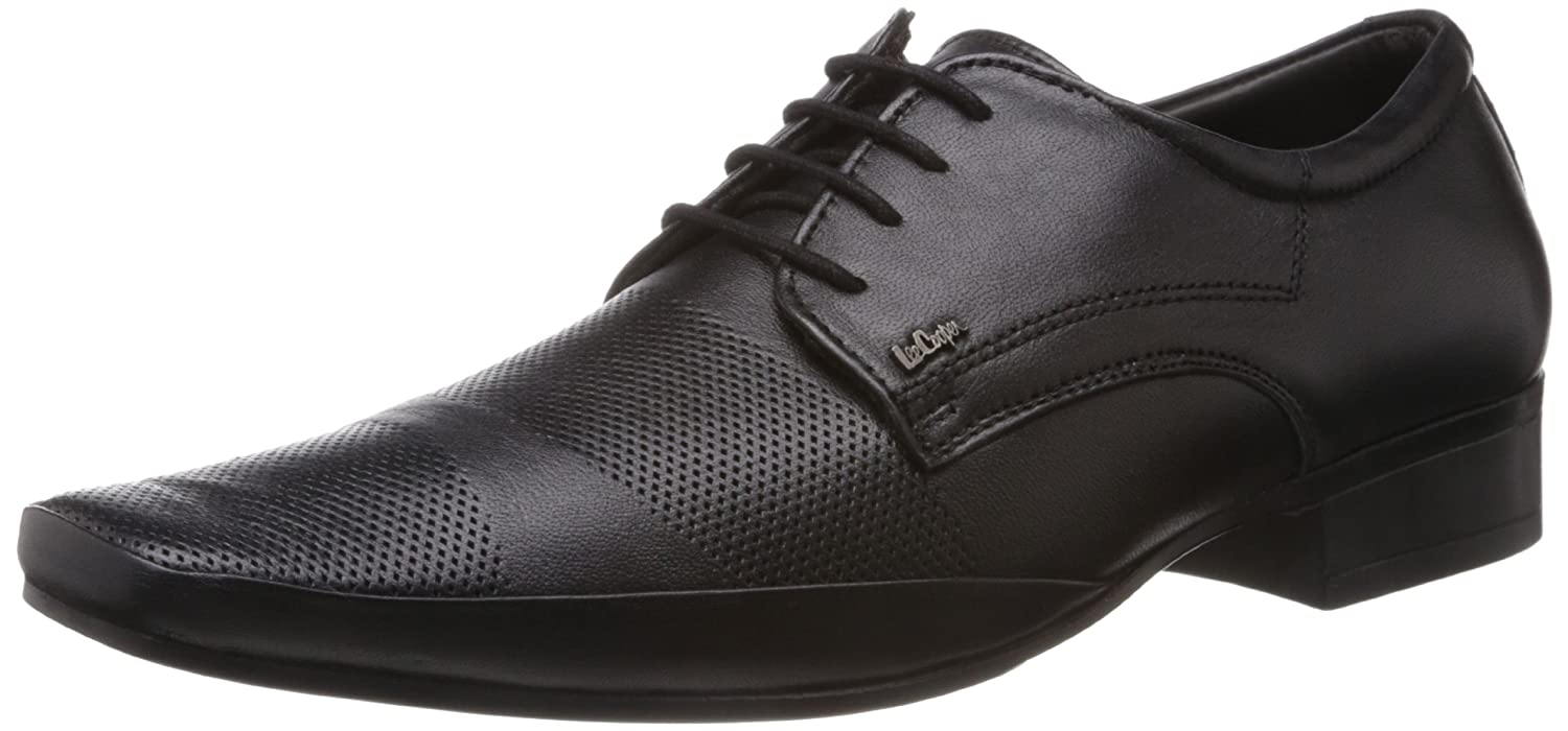 764b880265d5 Lee Cooper Men s Leather Formal Shoes  Buy Online at Low Prices in India -  Amazon.in