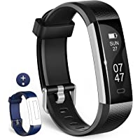 wesoo Fitness Tracker, K1 Fitness Watch: Activity Tracker with Sleep Monitor, Smart Bracelet Pedometer Wristband with Replacement Band for Kids, Women and Men