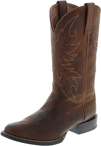90a933902cb FB Fashion Boots Men's 21700 Sport Horseman Cowboy Boots: Amazon.co ...