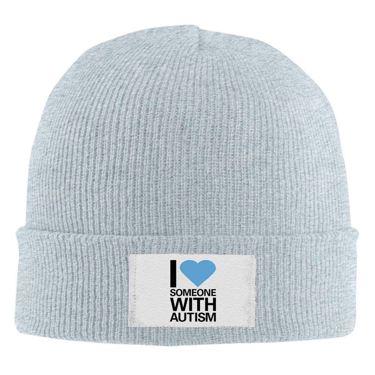 Bike Heartbeat Women and Men Skull Caps Winter Warm Stretchy Knit Beanie Hats