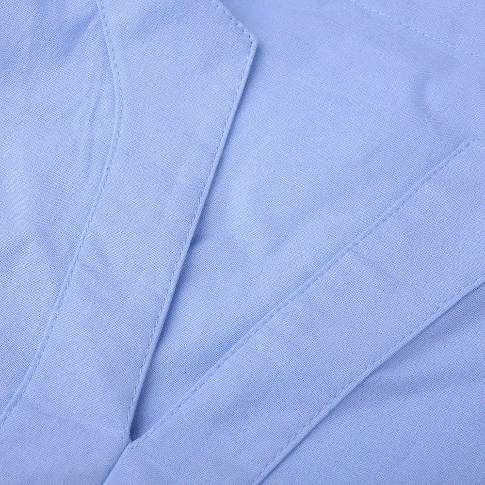 Zolimx Uomo Tumblr Fepla Larghi Uomini Lino 3//4 Manica Retro T-Shirt da Uomo Shirts Camicia Camicie Polo Camicetta Cappotto Maglione Giacca Felpe Hoodie Uomini Slim Manica