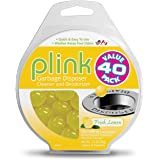 Plink 40-Pack Lemon-Scented Garbage Disposal Cleaner and Deodorizer | Includes 40 treatments |Made in USA