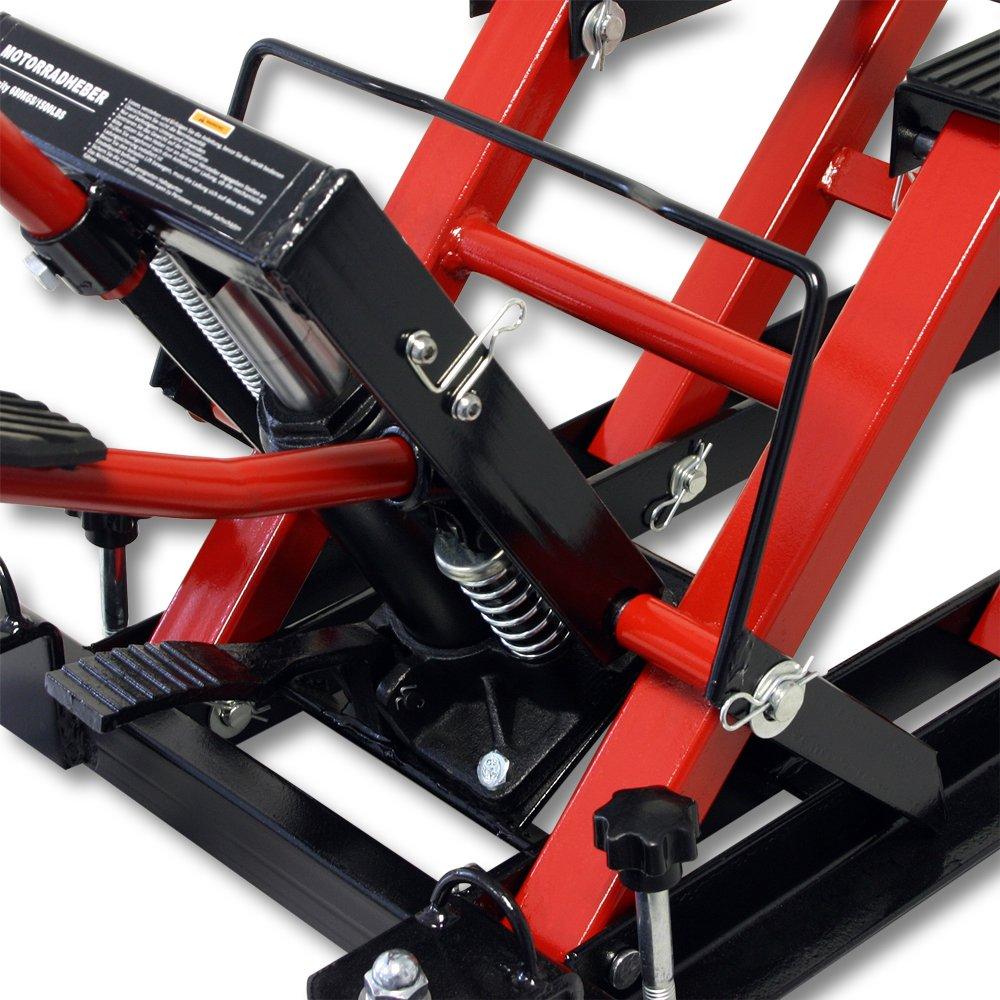 680kg ATV Quad Heber Motorradheber Montagebock Hebeb/ühne