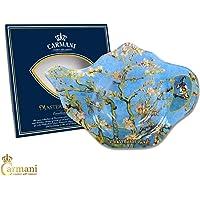 Carmani - Plato de cristal elegante del sostenedor