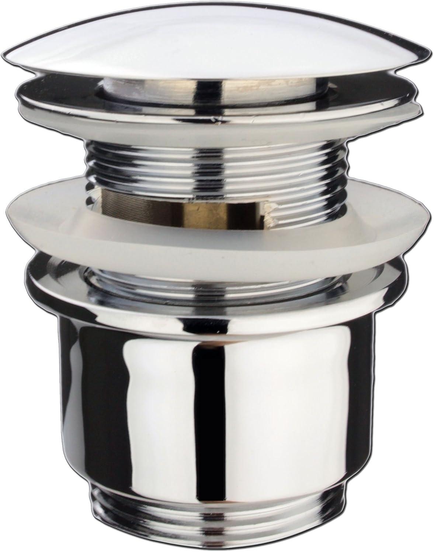 Atco/® pu01/avec trop-plein pop-up Bonde de vidage lavabo bonde excentrique Clic de Valve Valve