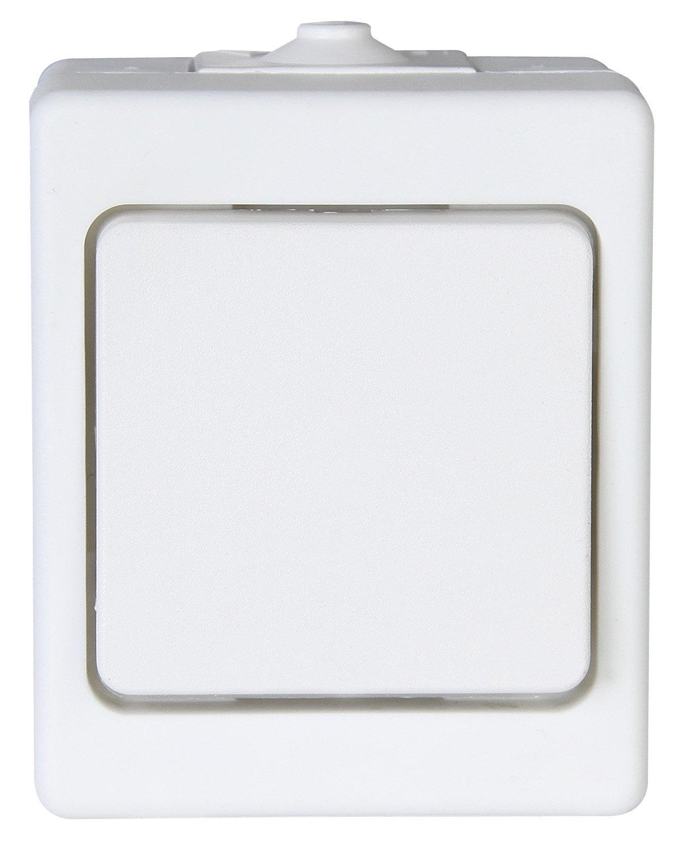 Standard Kopp 563602000 Aufputz-Feuchtraum Universalschalter IP44