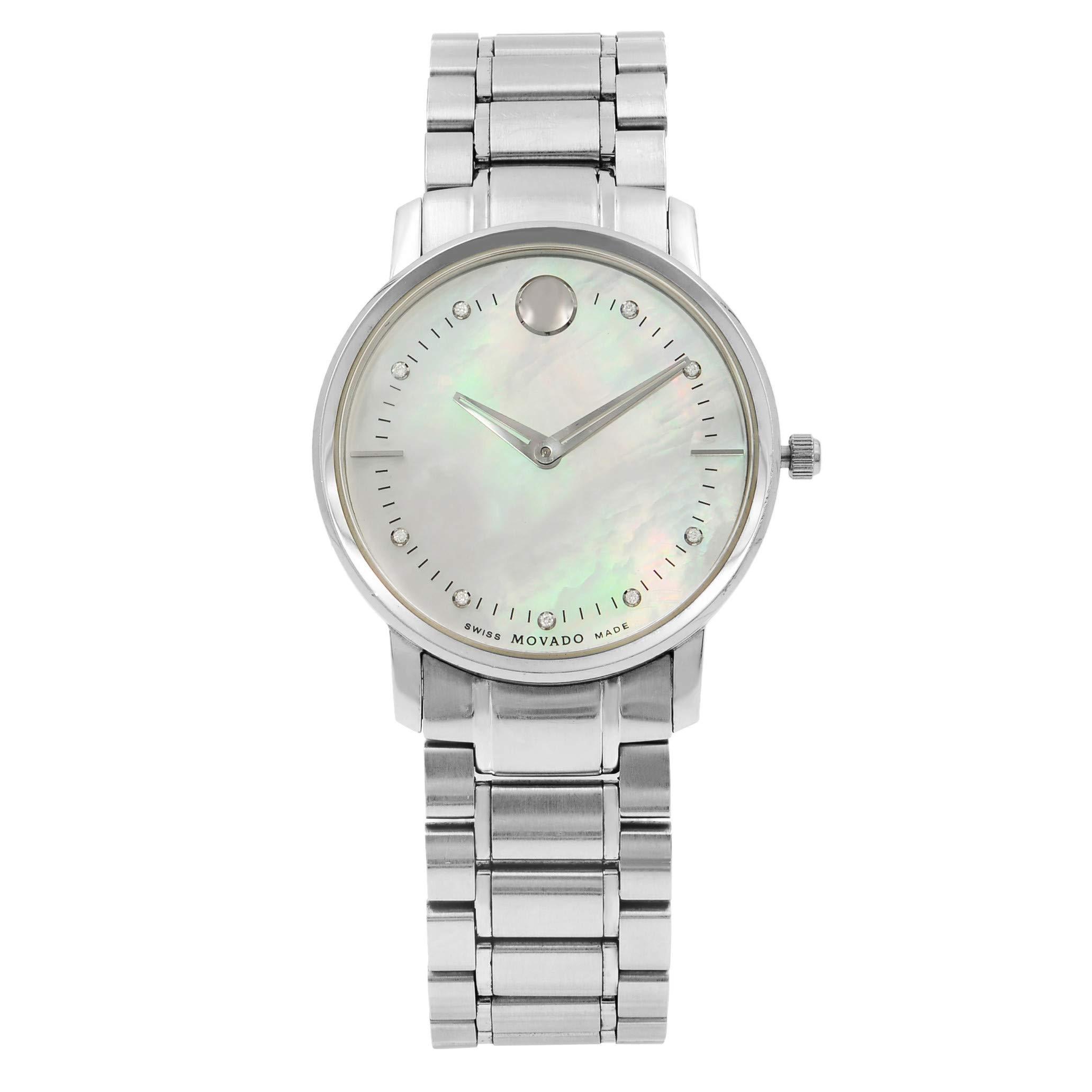 Movado TC Quartz Female Watch 0606691 (Certified Pre-Owned) by Movado