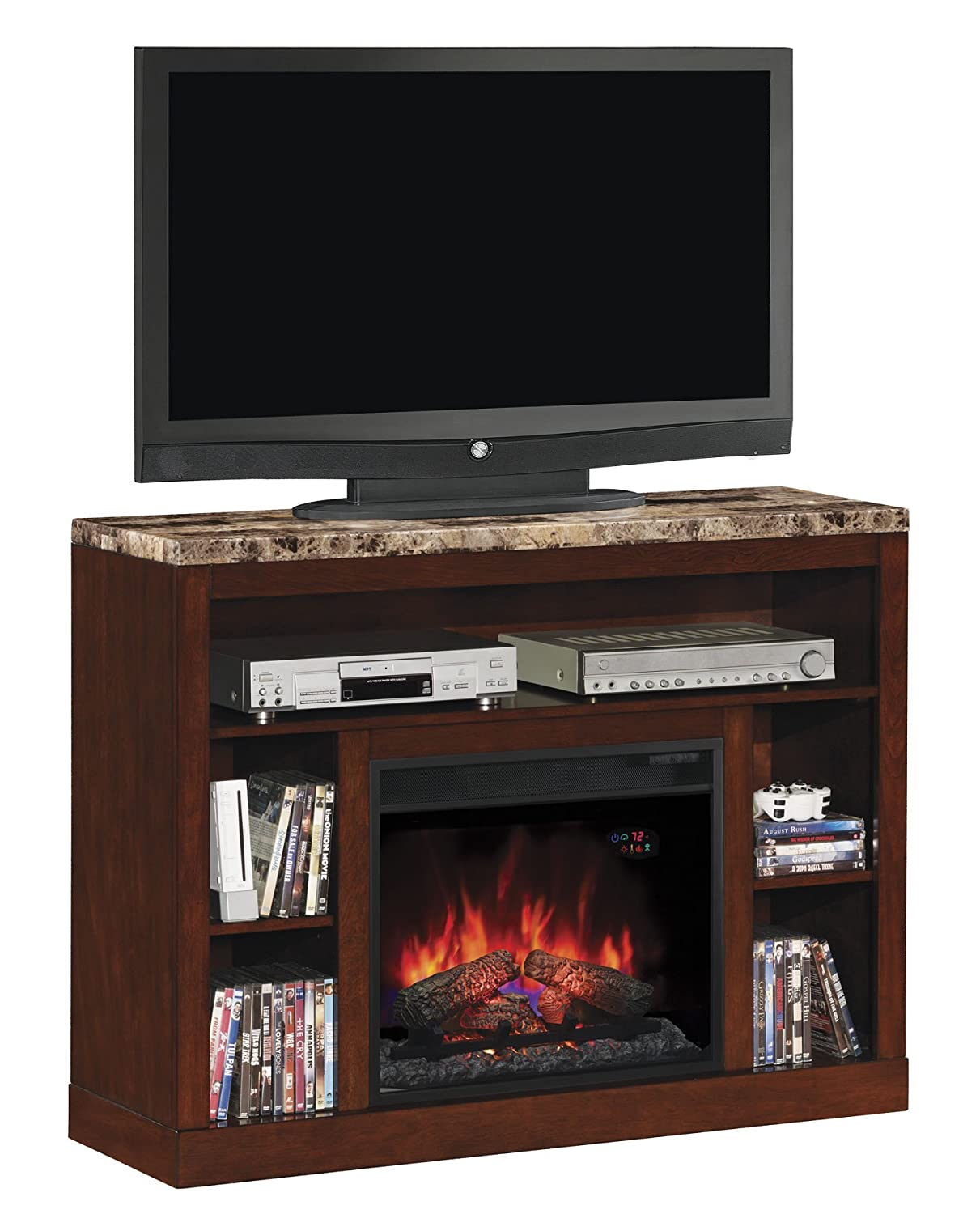 Amazon.com: ClassicFlame 23MM1824-C244 Adams TV Stand for TVs up ...