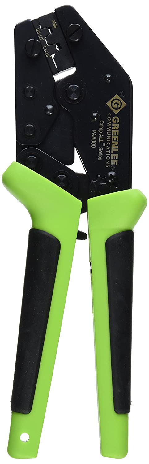 Greenlee 8027 Ergonomic CrimpALL 8000 Non-Insulated Terminal and Lug Crimper by Greenlee B0012YNFVE