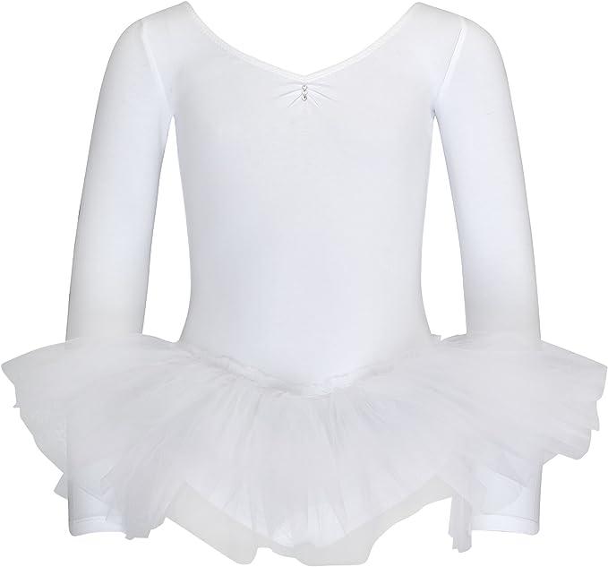 "tanzmuster Kinder Ballett Tutu /""Romy/"" lila Ballettanzug Trikot Ballettkleid"