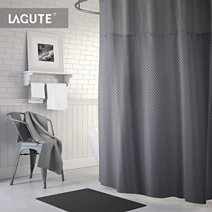 Lagute Translucent See Through Window Waterproof And Anti Mold Polyester Bathtub SnapHook