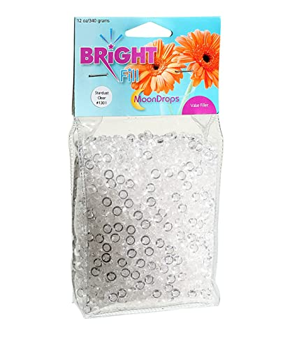 Amazon Bright Fill Moon Drops Clear 12 Ounces Of Vase Filler