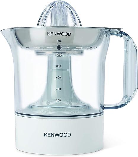 Kenwood JE290 - Exprimidor eléctrico, potencia 40 W, capacidad 1 L, rotación en 2 sentidos, filtro de acero inoxidable apto para lavavajillas, blanco: Amazon.es: Hogar