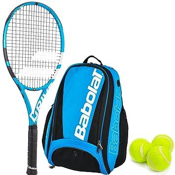 Amazon.com: Babolat Pure Drive equipo raqueta de tenis con ...