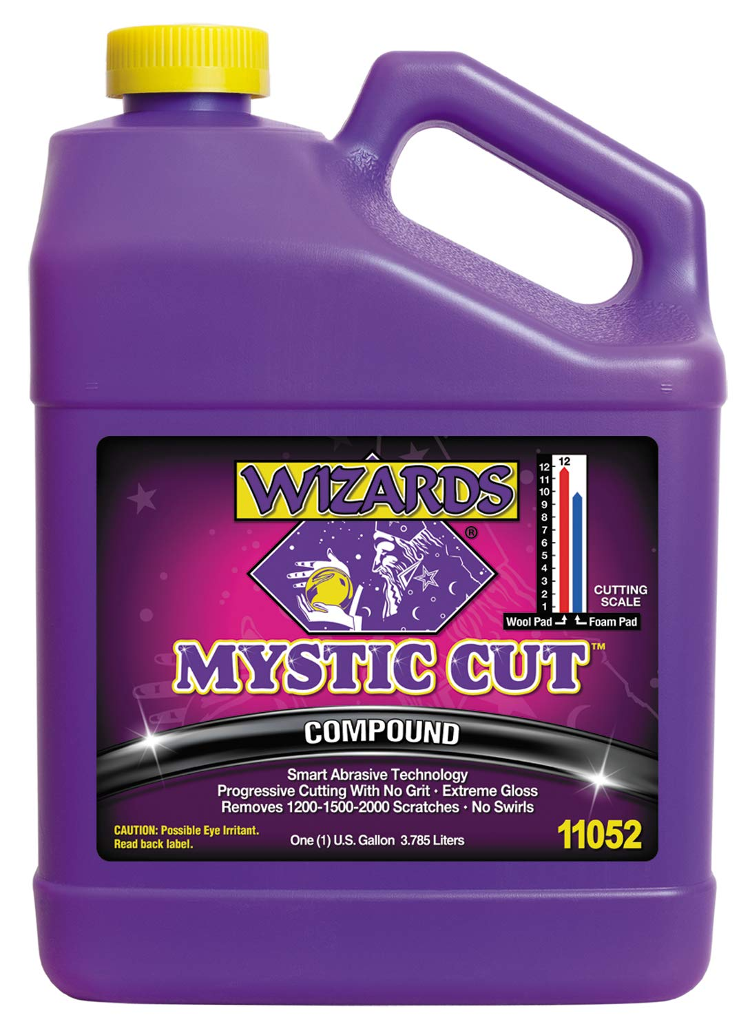 Wizards Buffing Liquid - Cutting Compounds & Polish Machine Glaze (Gallon, Mystic Cut Compound)