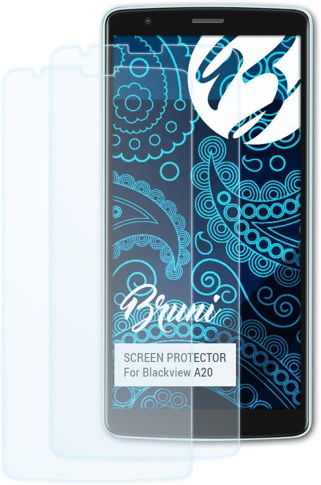 Bruni Película Protectora Compatible con Blackview A20 Protector ...