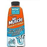 Mr Muscle Kitchen and Bathroom Drain Foamer, 500 ml