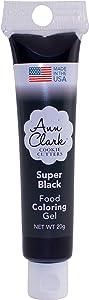 Ann Clark Cookie Cutters Super Black Food Coloring Gel, 20g