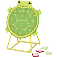 """Melissa & Doug Tootle Turtle Target Game, Active Play & Outdoor, Two Color Bean Bags, Self-Sticking Bean Bags, 22"""""""" H x 14.7"""""""" W x 2"""""""" L"""