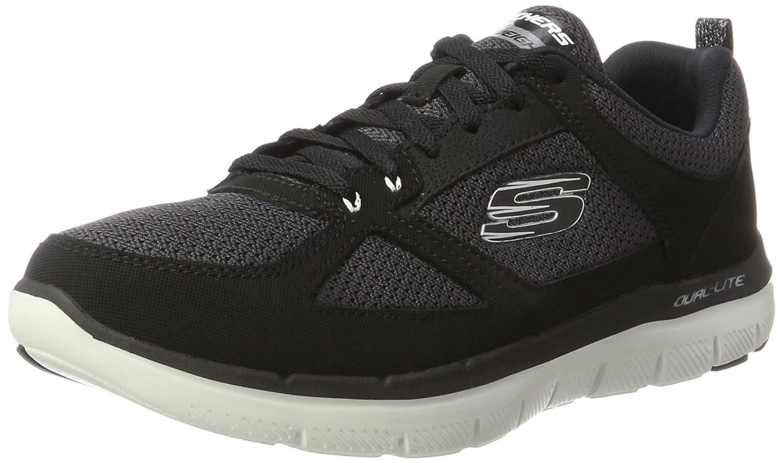 TALLA 39.5 EU. Skechers Flex Advantage 2.0, Zapatillas de Entrenamiento para Hombre
