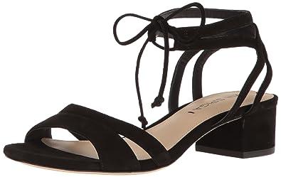 5ccfd843e1 Amazon.com   Via Spiga Women's Taryn Block Heel Dress Sandal ...