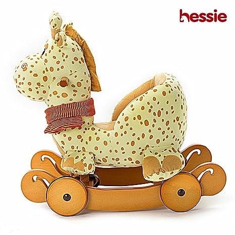 hessie – Saco de Dormir Modern Animal de Peluche Caballo balancín de Peluche con Carcasa para